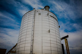 Storage tank in Innisfail.