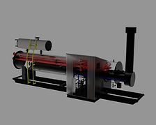A 3D rendering of a Line Heater.