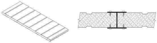 insulation double sided return edge