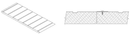 insulation single sided lap