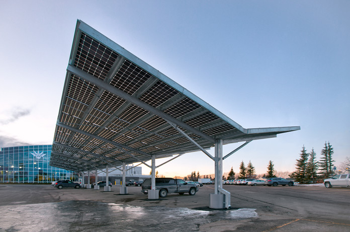 Airdrie Solar Structure