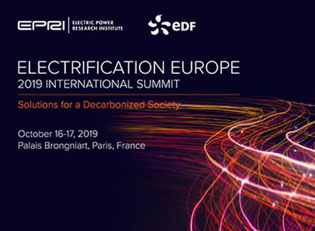 Sommet International de l'Électrification EUROPE 2019