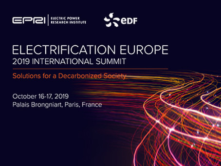 Sommet International de l'Électrification EUROPE 2019