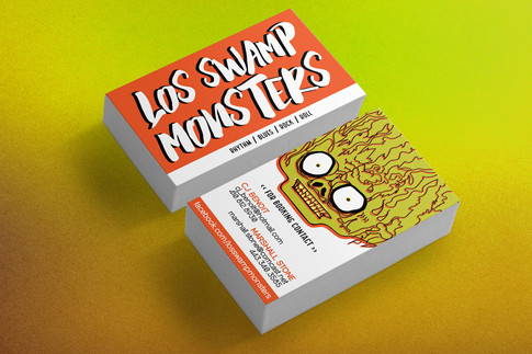 Los Swamp Monsters Business Cards