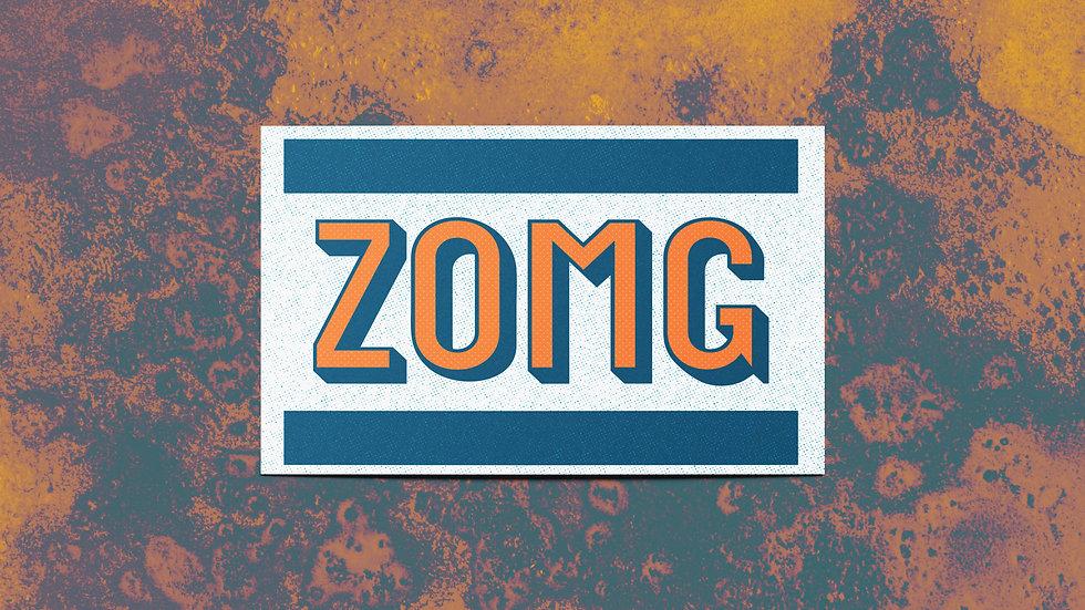 Z(Oh My Gosh) Mini Print