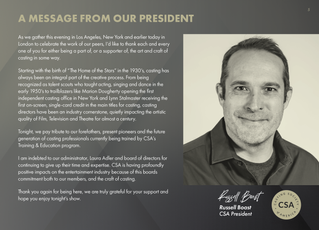 Message President