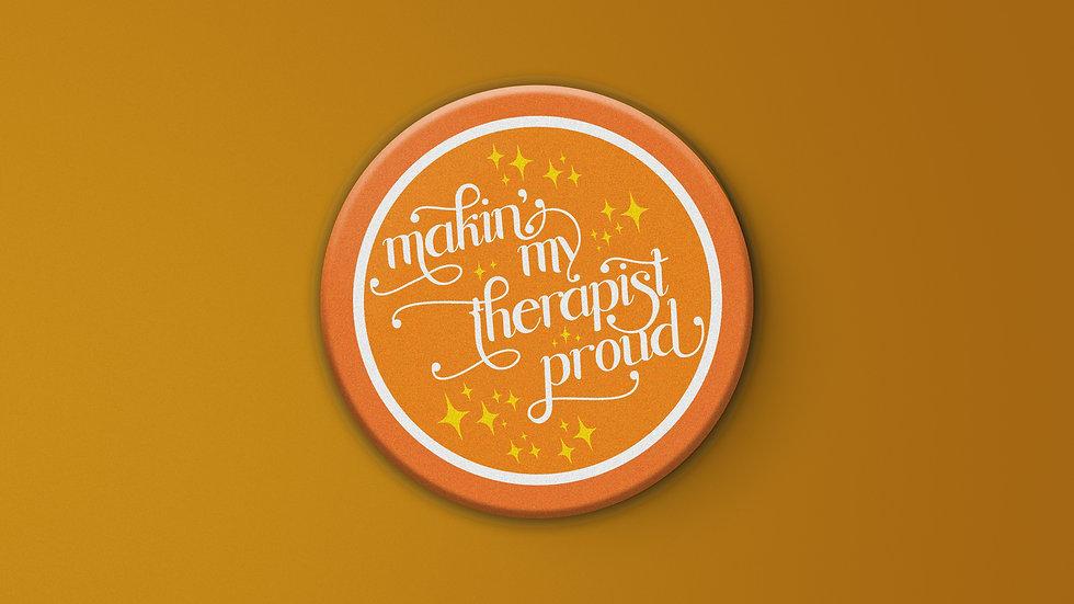 Therapy Pride Oversize Button