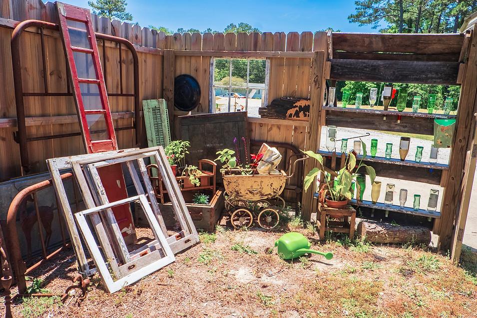 Currituck Artisan Salvage Front Yard