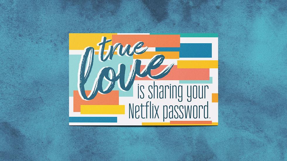 True Love Mini Print