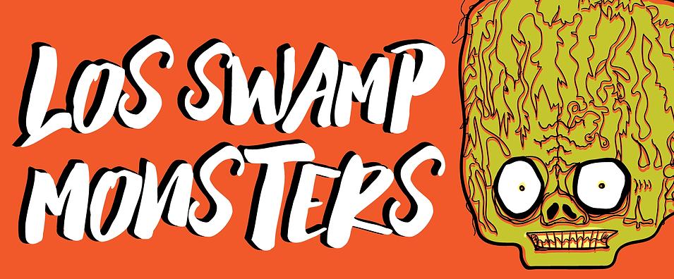 Los Swamp Monsters Head Logo