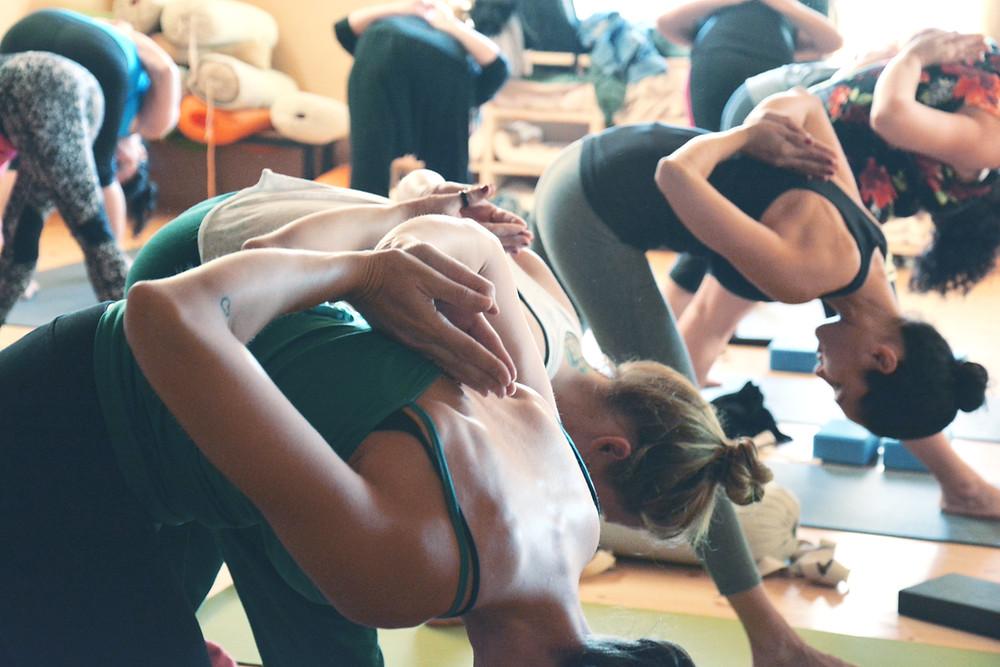 Vinyasa Yoga - Wenn Atem und Bewegung in Einklang fließen, legen sich die Gedanken zur Ruhe...