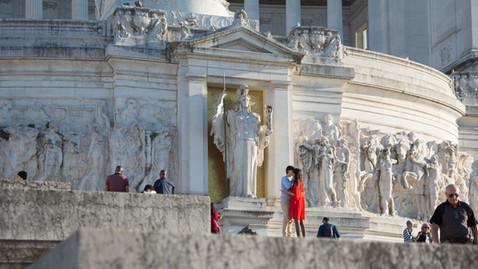 roma vittoriano street photography