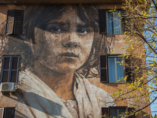 La Street Art di Tor Marancia