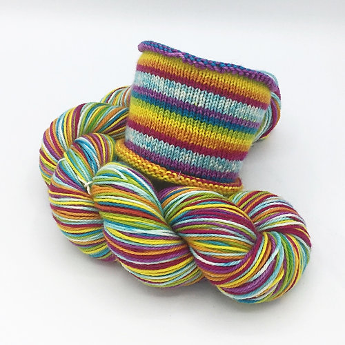 Shop Fog City Fiber Spring In The Castro Mcn Base Self Striping