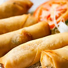 VEGETABLE CRISPY SPRING ROLLS