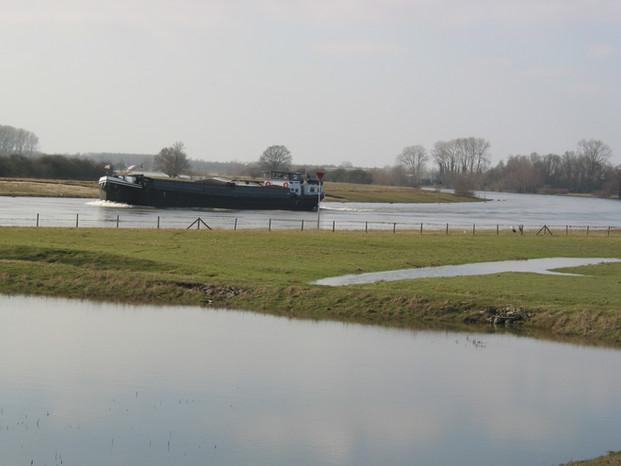 boot op de IJssel