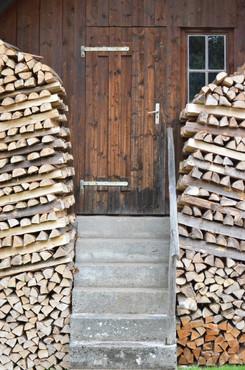 bos hout voor de deur