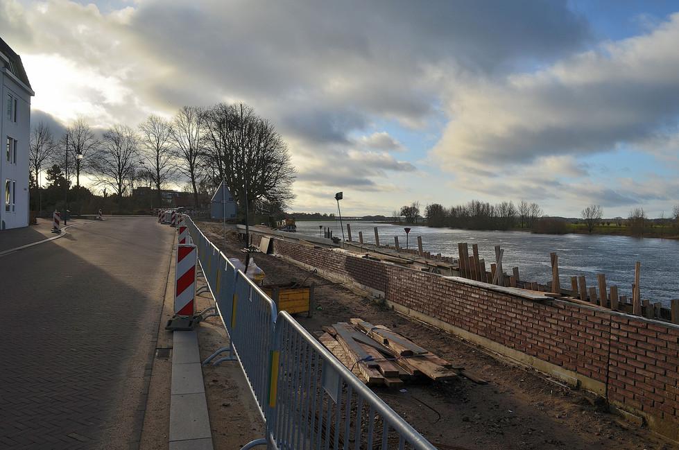 IJsselkade op de schop, januari 2018