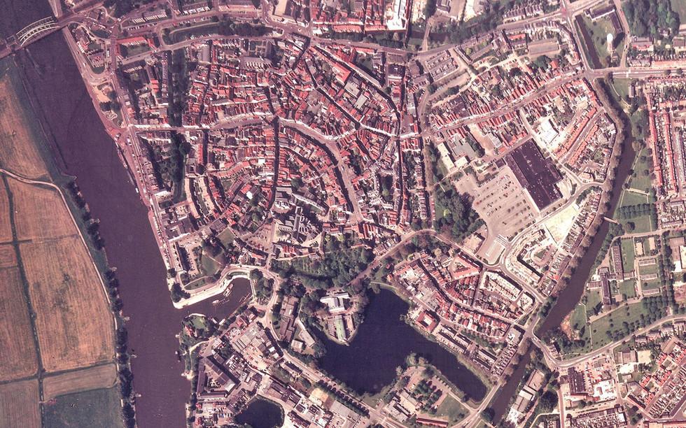 luchtfoto Zutphen 1993