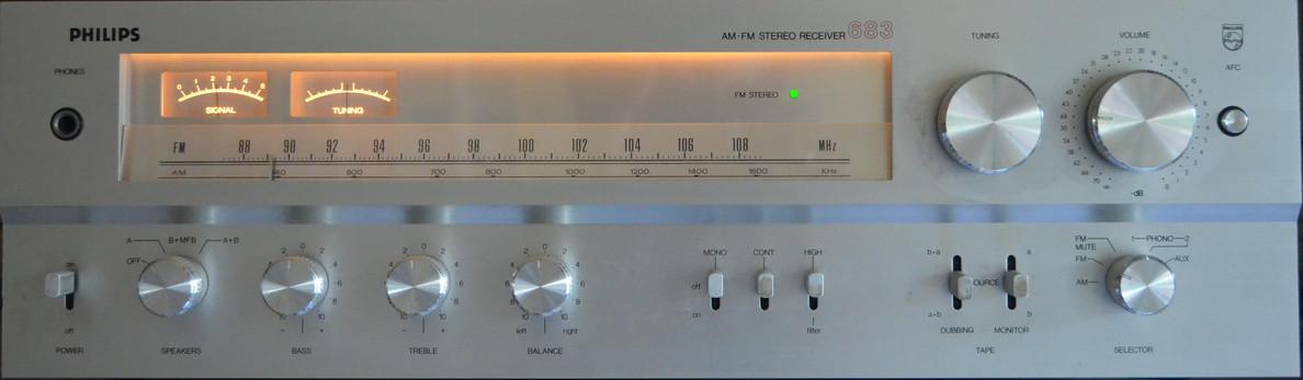 Philips - 22RH683 - 1970