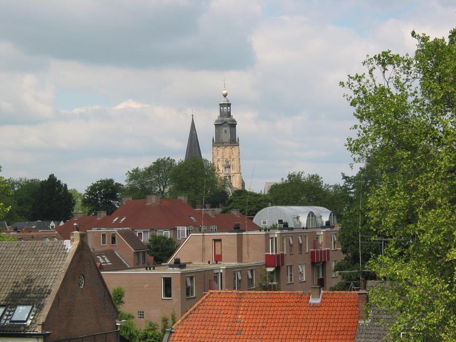 Walburgis vanaf het Nieuwe Bornhof