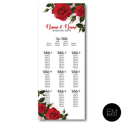 Table Plan Banner 21