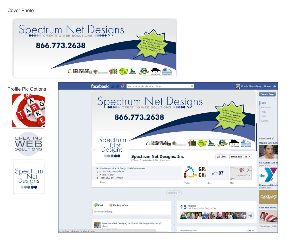Spectrum Net Designs