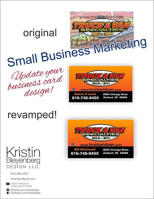 Business Card --- Design Update