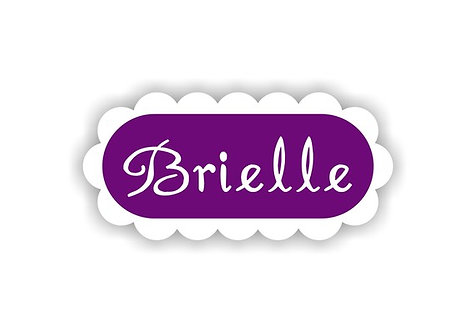 RUFFLE SHAPE - Name Labels for Kids