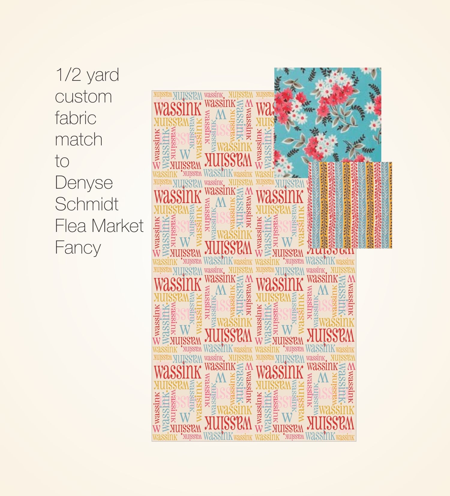 Made to Match Fabric Prints