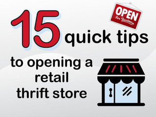 What's involved in starting a thrift operation?
