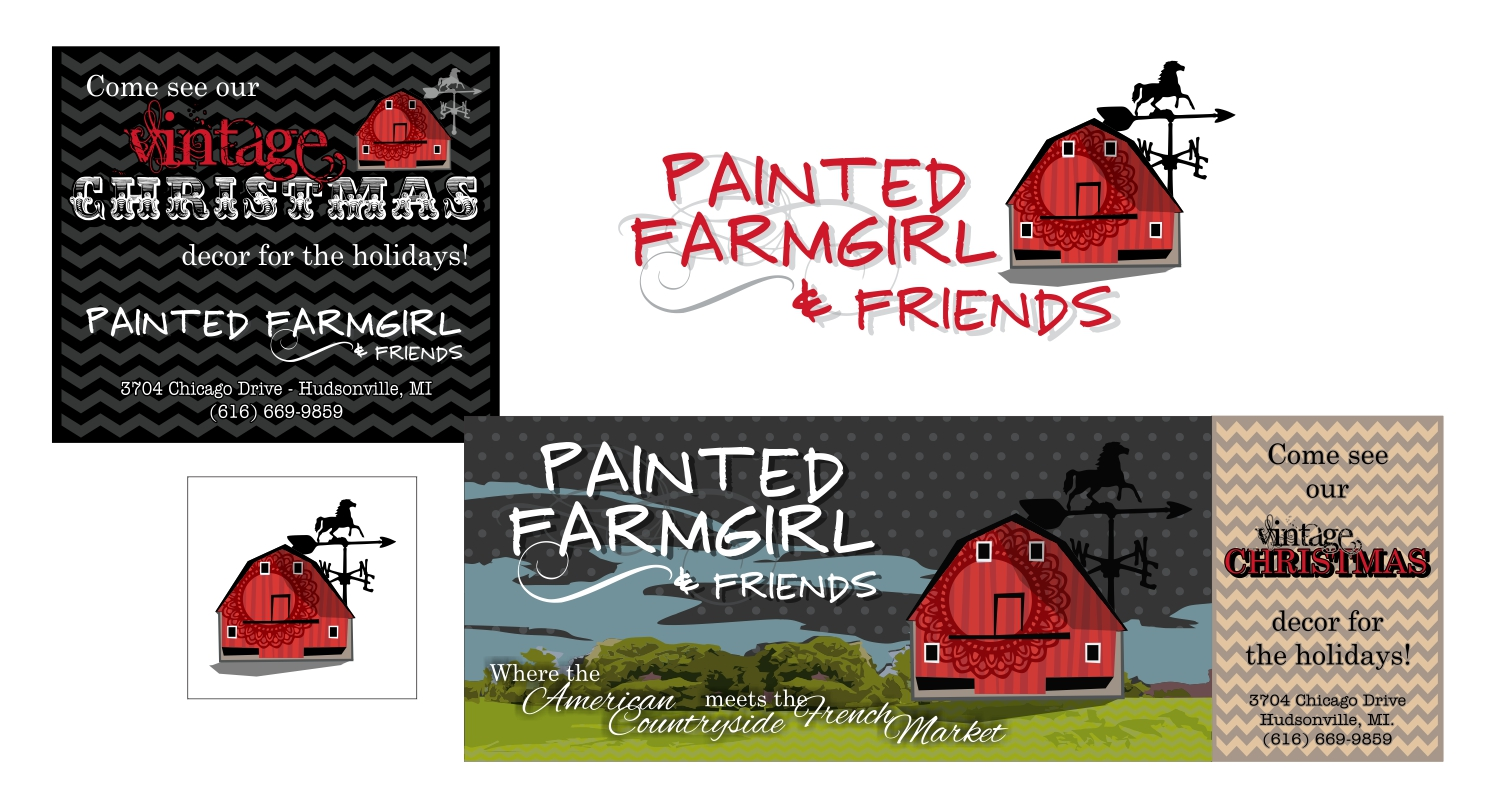 Painted Farmgirl & Friends