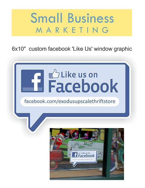 Custom Facebook Window Graphic