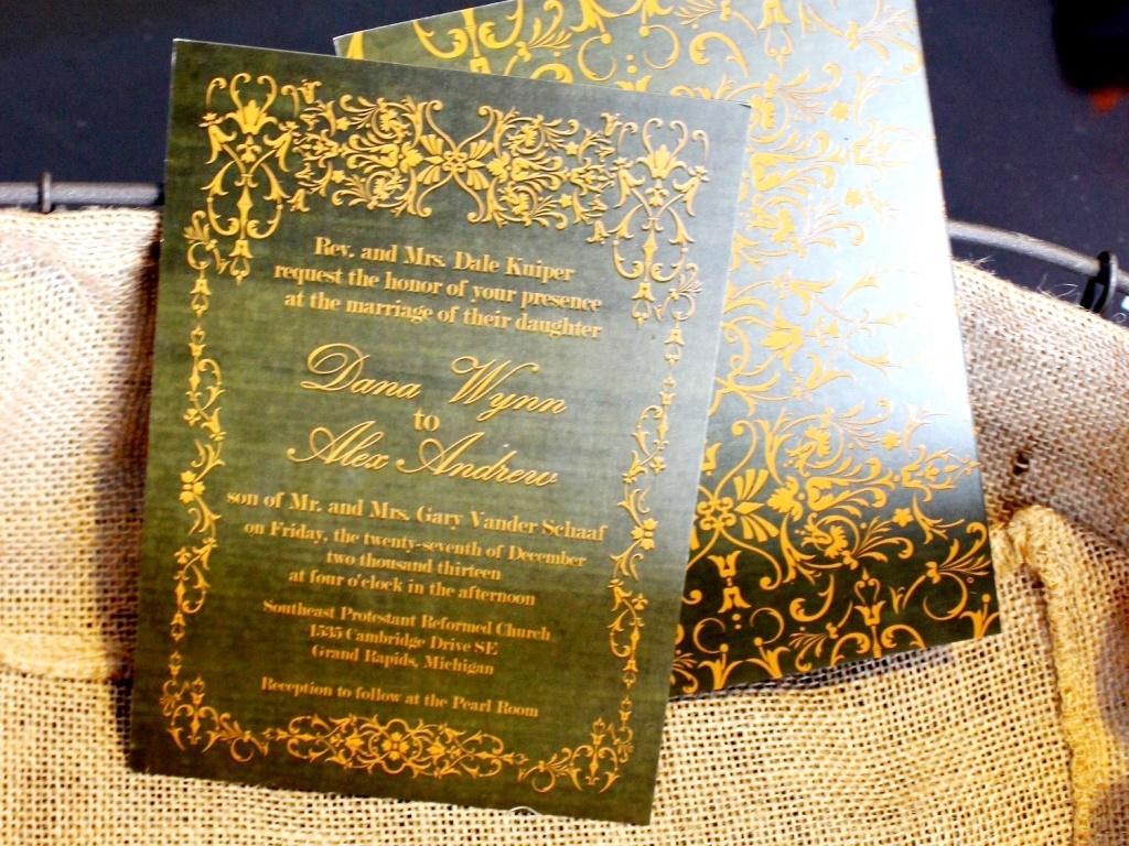 Wedding Invitation Design.