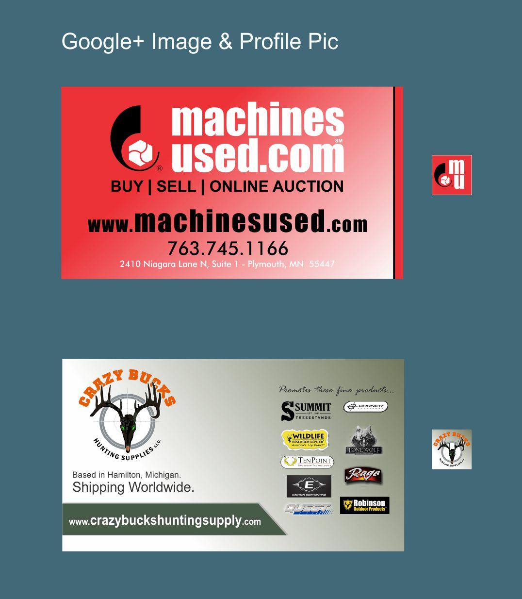 Machines Used.com & Crazy Bucks