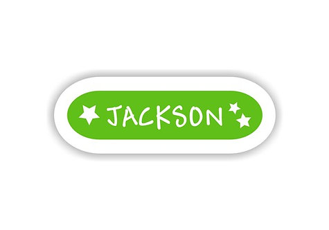 STARS - Name Labels for Kids