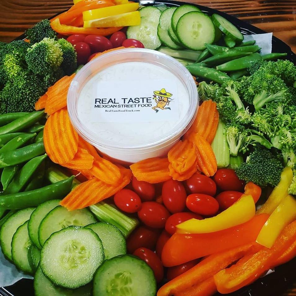 Fresh Veggie Platter w/ Our Ranch Dip