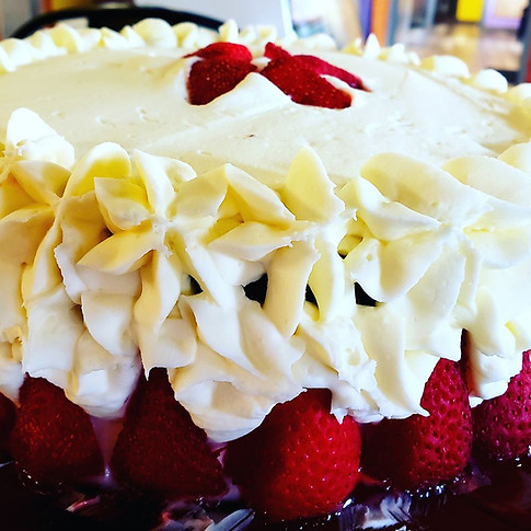 Chocolate Cake w/ Buttercream Icing