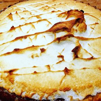 Banana Meringue Pie
