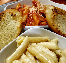Pasta & Garlic Bread Anyone?