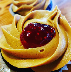 Chocolate Raspberry Filled w_ Peanut But