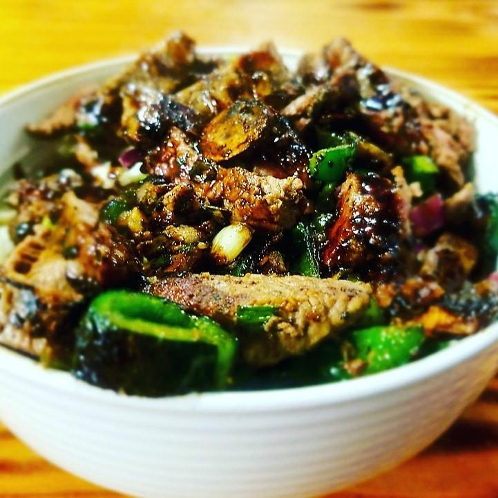 Steak & Mushroom Salad