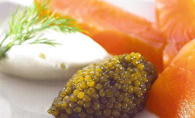 Lachs, Kaviar, Salmon, Lachsfilet, beste Qualität, spitze Qualität