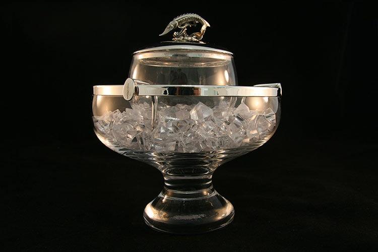 Kaviarschale Glas