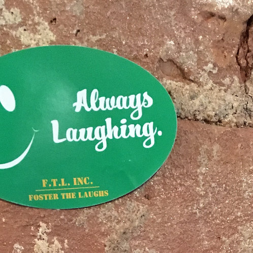 ALWAYS LAUGHING (stickers)