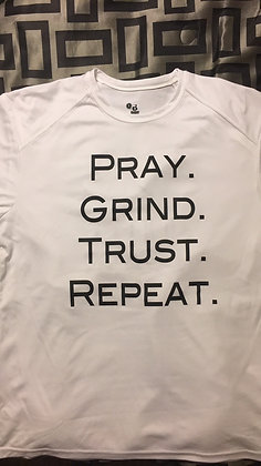AHB DRI Fit Pray, Grind, trust, Repeat