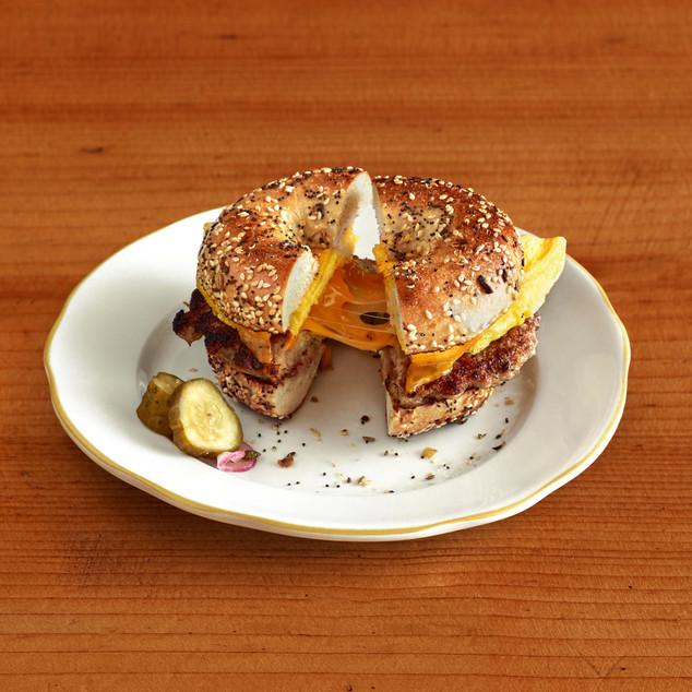 Sausage_Sandwich_cheese_brunch_Oakland CA