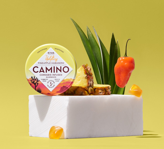 KIVA CAMINO UPLIFTING CANNABIS-INFUSED GUMMIES