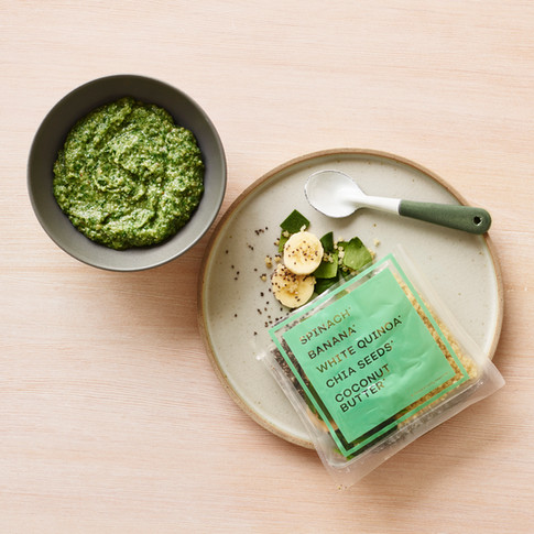Raised Real_Spinach Banana_ baby food_styling Alicia Deal