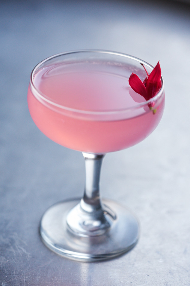 Delicate Pink Cocktail